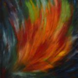 Naplněná touha - olej na sololitu - 138 x 103 cm - r. 2007