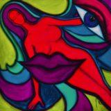 Bohyně komunikace - barevná varianta 1
