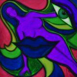 Bohyně komunikace - barevná varianta 3