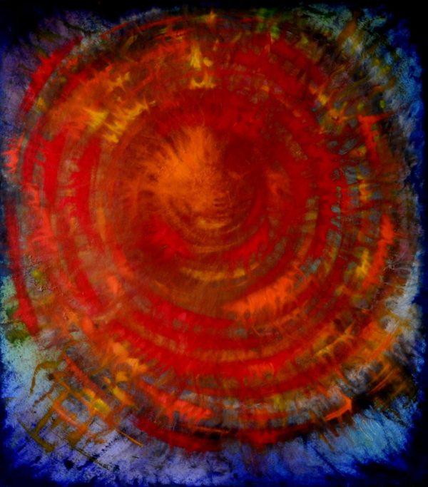 26 - Mateřství - olej na sololitu - 103 x 91 cm - r. 2008