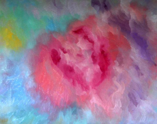 5 - Něha - olej na sololitu - 140 x 110 cm - r. 2007