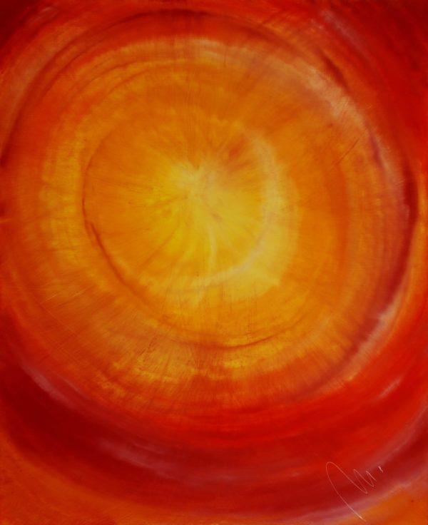 2 - Světlo - olej na sololitu - 135 x 110 cm - r.2008