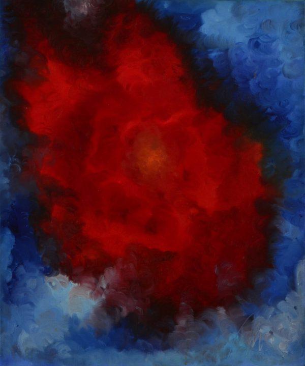 34 - Vroucí láska - olej na plátně - 50 x 60 cm- r. 2007