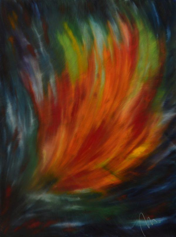 50 - Naplněná touha - olej na sololitu - 138 x 103 cm - r. 2007