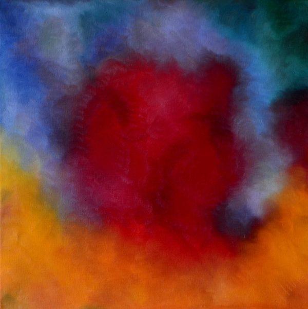 53 - Štěstí - olej na plátně - 70 x 70 cm - r. 2007