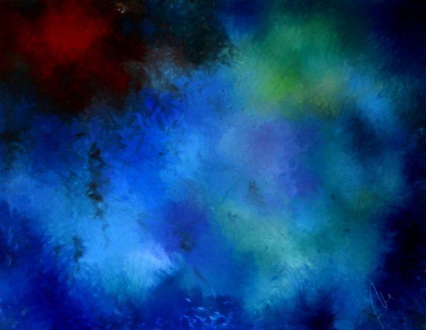 58 - Ticho - olej na sololitu - 137 x 107 cm - r. 2008