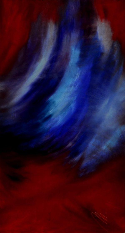 62 - Opuštění - olej na sololitu - 110 x 60 cm- r. 2007