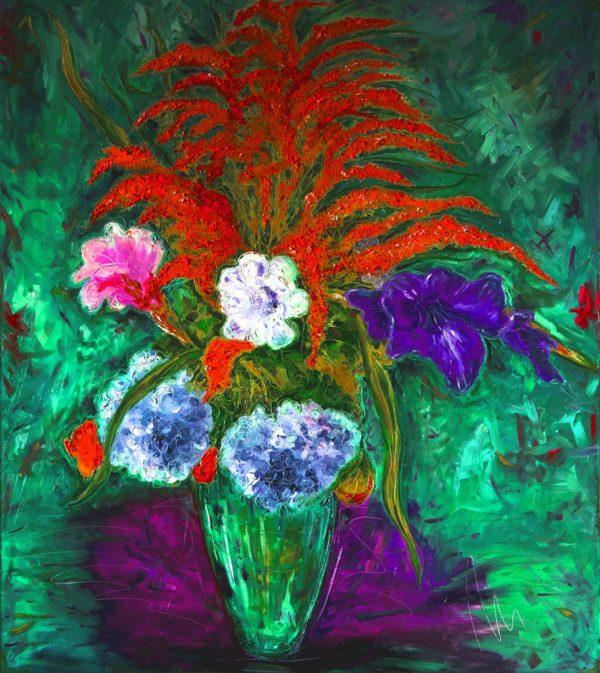 Ze zahrady - barevná varianta 10