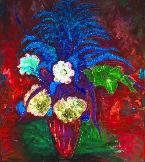 Ze zahrady - barevná varianta 6