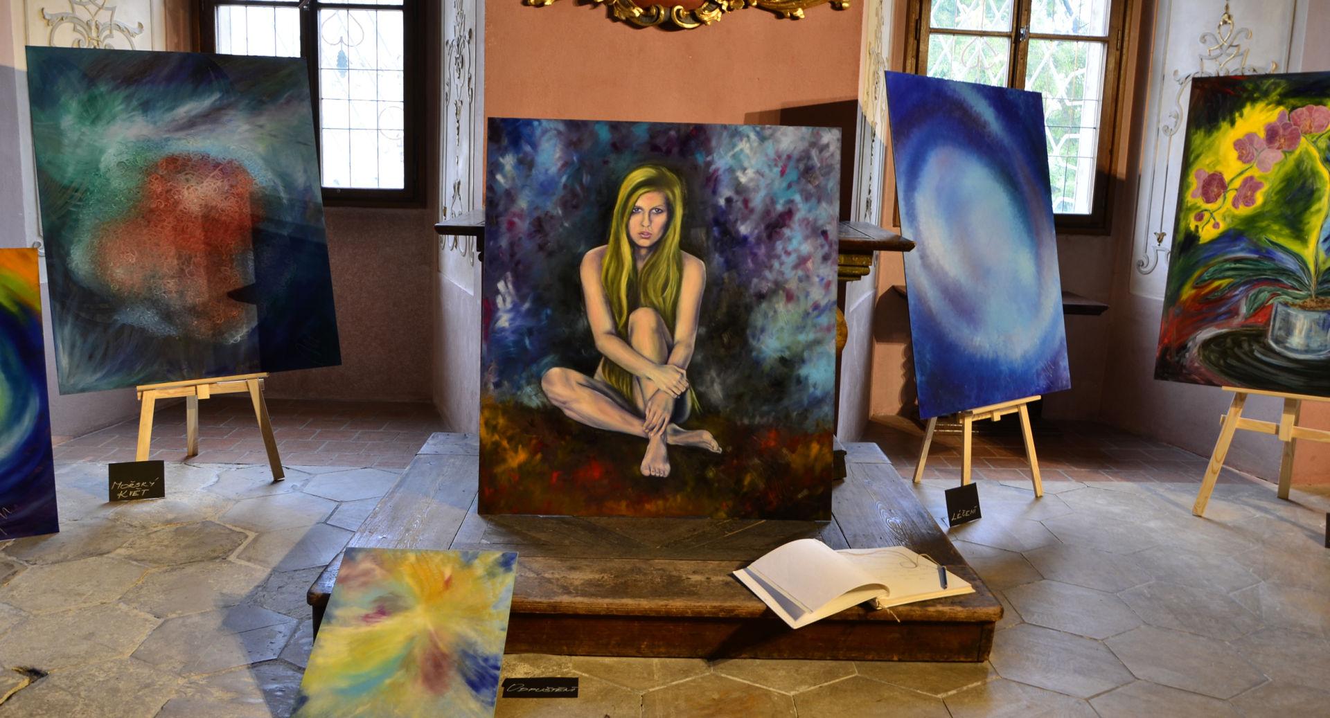 Marie - výtvarnictví